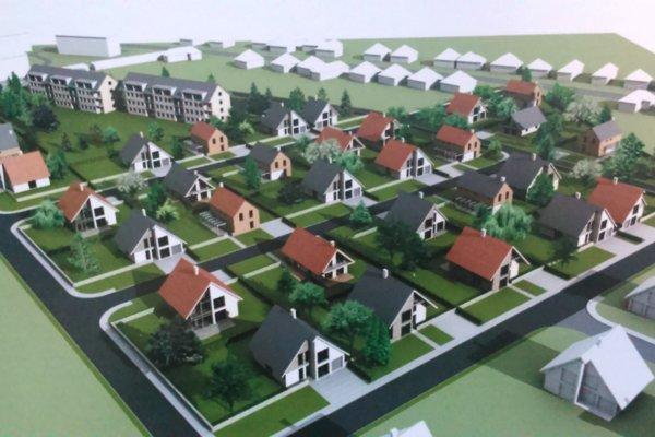 Rodinné domy pribudnú podľa vypracovanej štúdie na obecných pozemkoch.