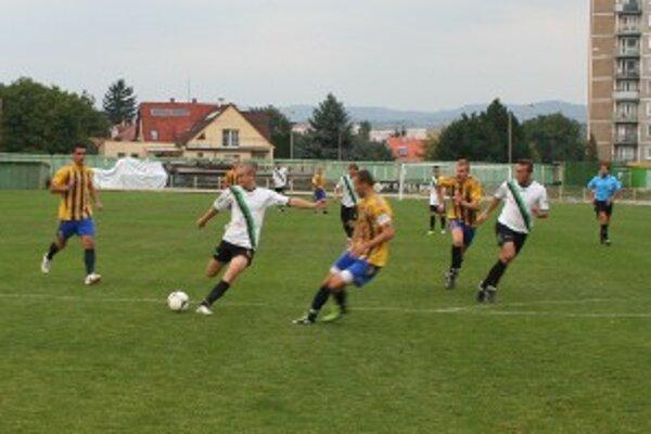 Brestovanský strieľa víťazný gól Baníka.