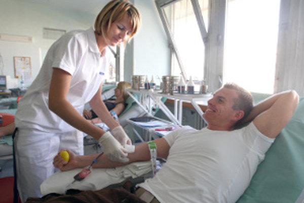 Odber krvi je jednou z aktivít v rámci Dní dobrovoľníctva.