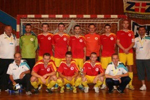 Družstvo FSC Prievidza na Final Four Slovenského pohára obsadilo štvrtú priečku.