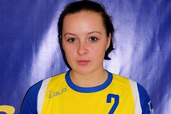 V čase, keď prišla do Michaloviec. Do Iuventy prestúpila vjeseni 2009 zUžhorodu.
