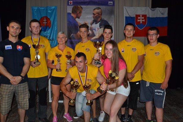 Medailisti. Členovia AWK Prešov.