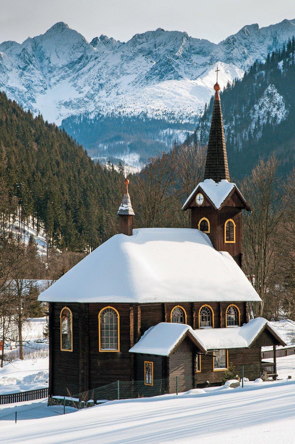 Drevený kostolík v Tatranskej Javorine