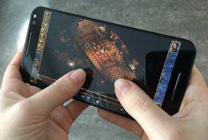 Hra Baldurs Gate na smartfóne