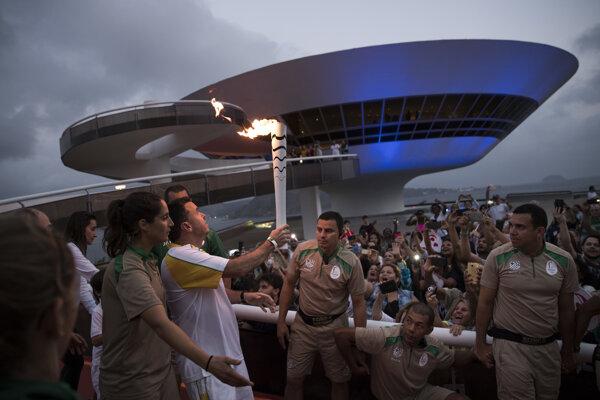 Olympijský oheň v Riu bude treba dobre strážiť.