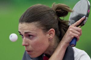 Eva Ódorová zatiaľ ako jediná zástupkyňa slovenského stolného tenisu pozná svoju súperku na OH.