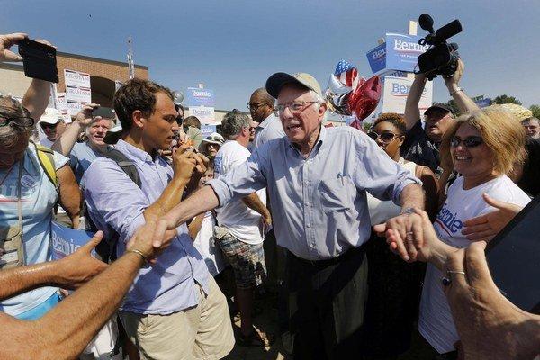 Sanders je jedným z najľavicovejších amerických demokratov.