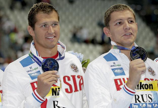 Zákaz štartu sa týka aj ruských plavcov Vladimíra Morozova a Nikitu Lobinceva.