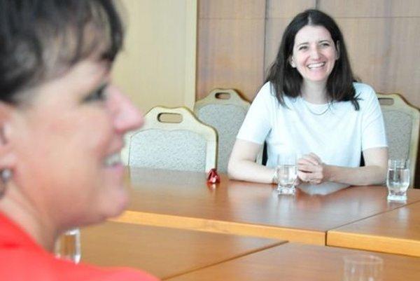 Europoslankyňa Jana Žitňanská a primátorka Zvolena Lenka Balkovičová.