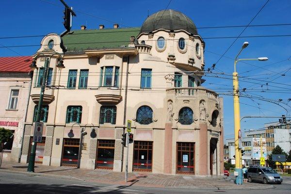 Sídlo Knižnice P. O. Hviezdoslava v Prešove.