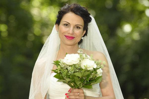 Kristína Turjanová ako seriálová nevesta.