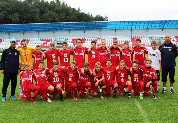 Víťazné družstvo FC VSS Košice