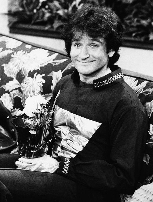Robin Williams na začiatku kariéry v roku 1978