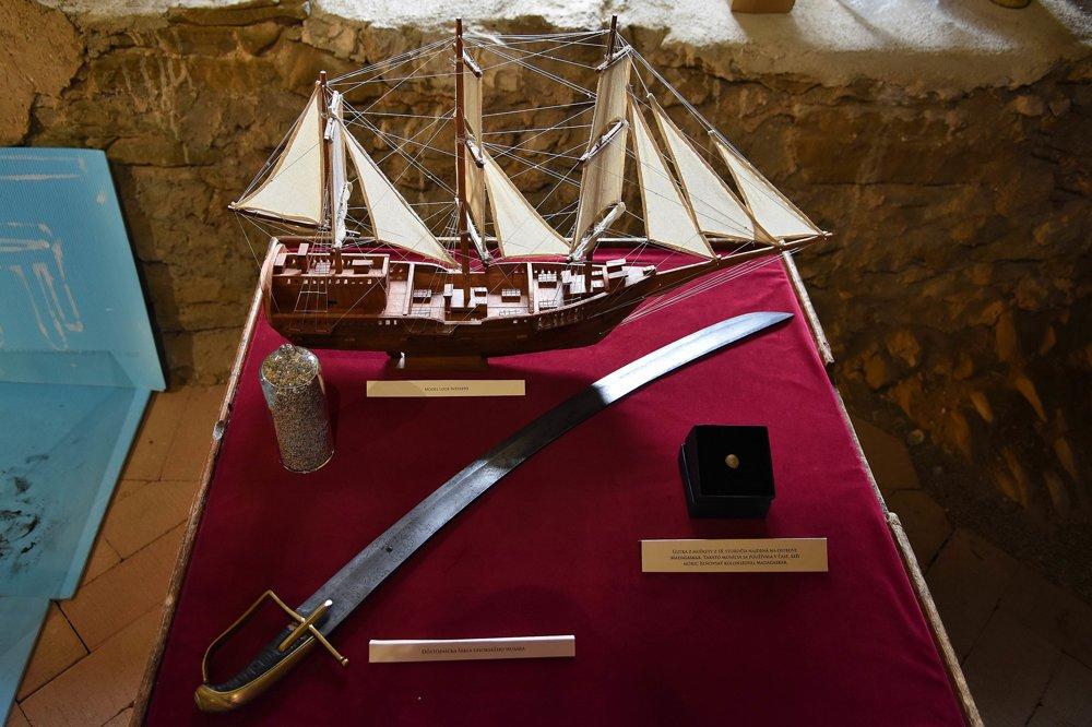 Časť exponátov vystavená v rámci novootvorenej expozície.