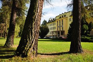 Hotel Skalka v Rajeckých Tepliciach.