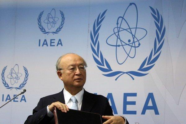 Generálny riaditeľ Medzinárodnej agentúry pre atómovú energiu Jukijo Amano.