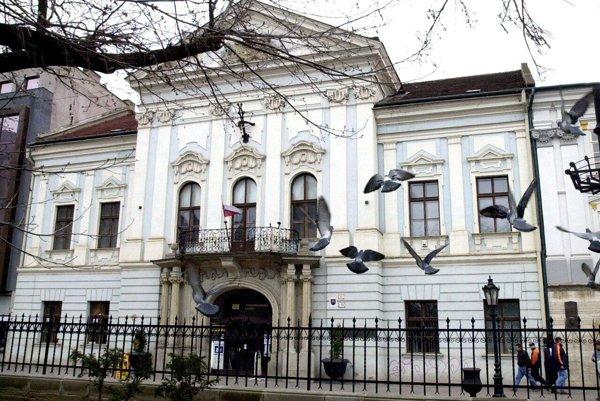 Budova Východoslovenskej galérie v Košiciach.