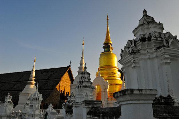 Mesto Chiang Mai priťahuje dovolenkárov aj digitálnych nomádov.