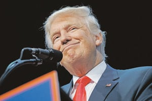 Donald Trump, republikánsky kandidát na prezidenta.