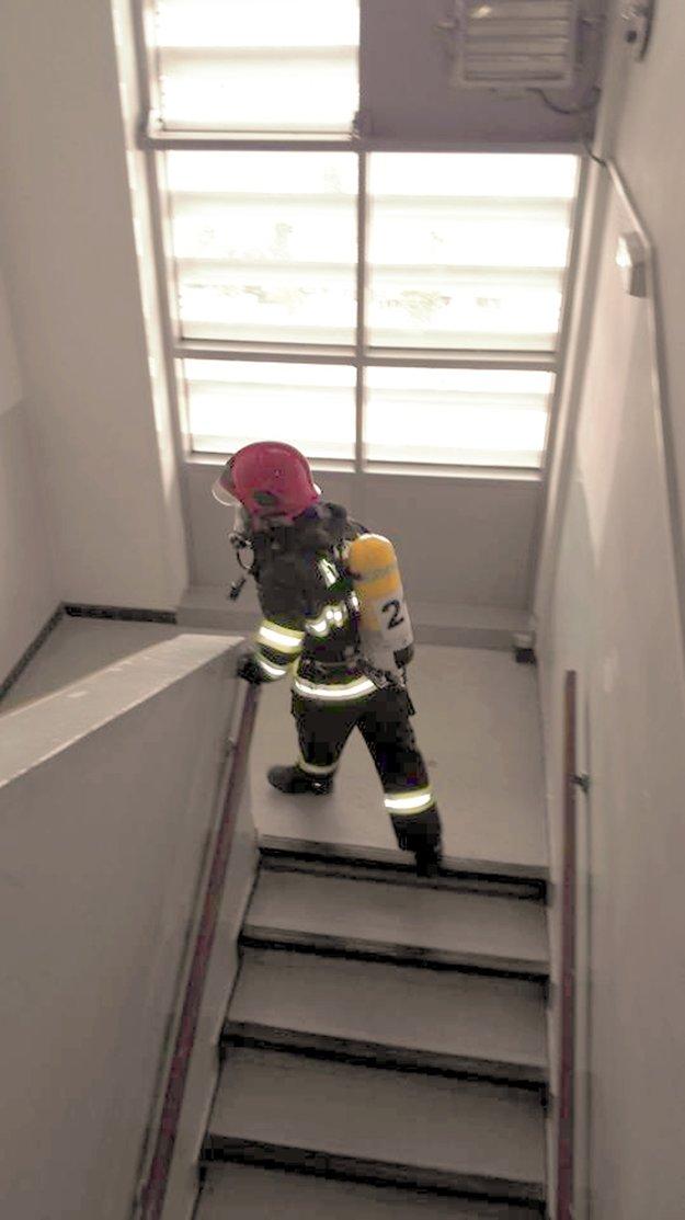 Súťaž Schody dá zabrať všetkým hasičom.