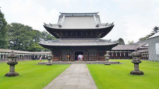 Mestský hrad v Toyame.