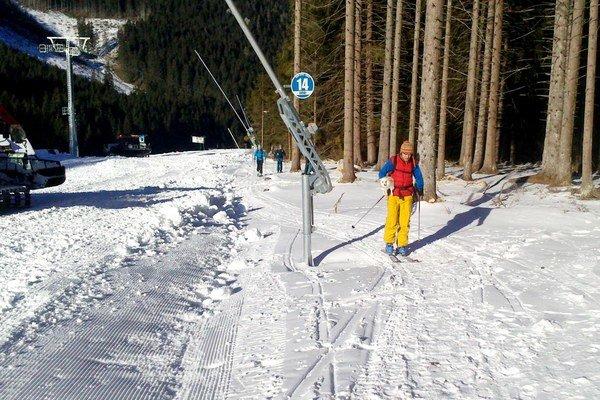 Skituristi sú v strediskách neplatiacimi hosťmi.