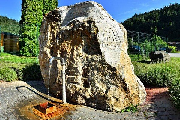 Minerálny prameň v Lúčkach.