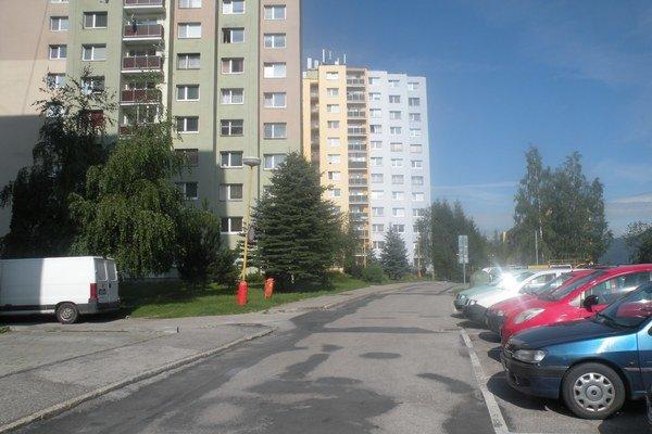 Smreková ulica.