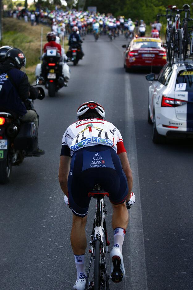 Mathias Frank súťažil aj na tohtoročnej Tour de France.