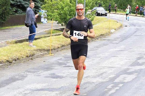Ján Červeň predviedol znova skvelý bežecký výkon.