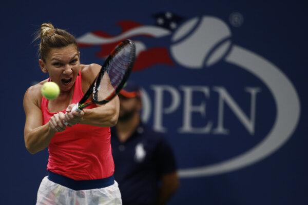 Halepová na US Open zdolala Luciu Šafářovú.
