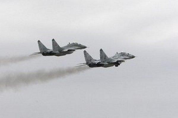 Lietadlá MiG-29.