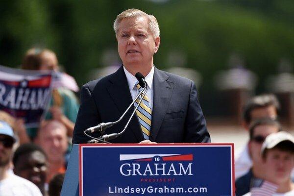 Lindsay Graham možno v skutočnosti nechce vyhrať.