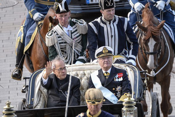 Indický prezident Pranab Mukherdží je na oficiálnej návšteve Švédska.