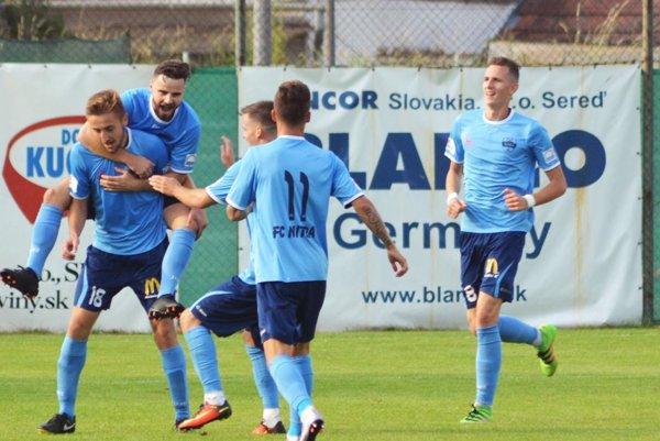 Dvoma gólmi sa o víťazstvo Nitry v Seredi pričinil český legionár Jan Shejbal (18).