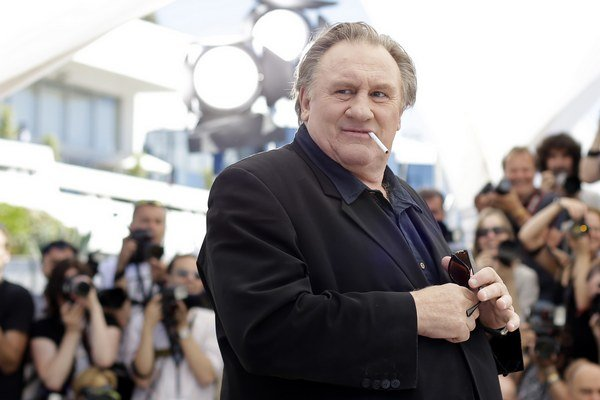 Gérard Depardieu sa nedávno ukázal na filmovom festivale v Cannes.