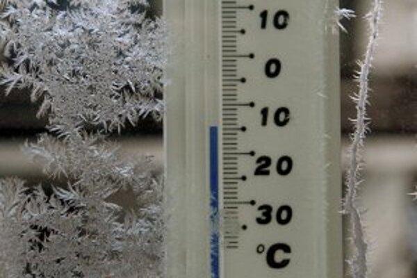 Teploty v týchto dňoch klesajú hlboko pod nulu.