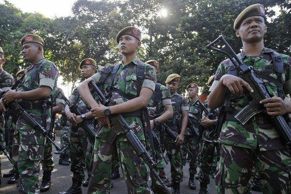Indonézski vojaci.