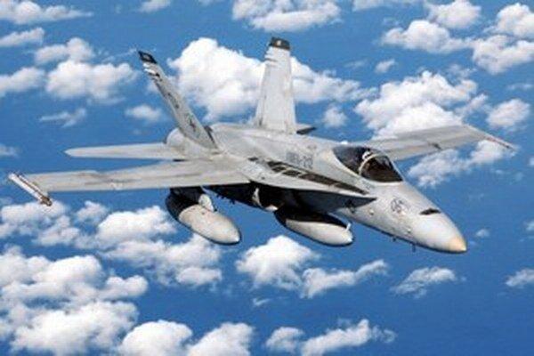 Ilustračná fotografia stíhačky typu F-18.