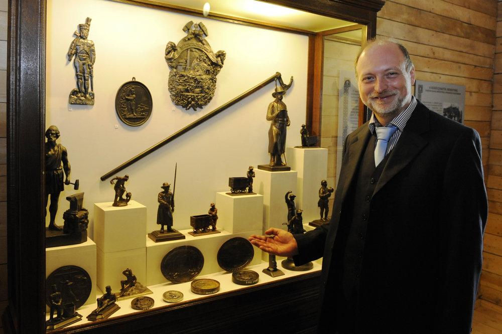 Na snímke Gábor Tomka, zástupca generálneho riaditeľa MNM.