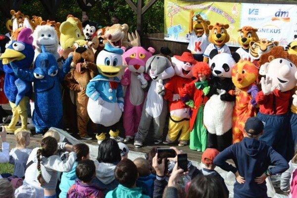 Zoo opäť obsadia maskoti.