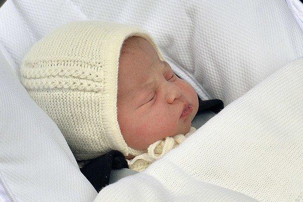 Princezná dostala meno Charlotte Elizabeth Diana.