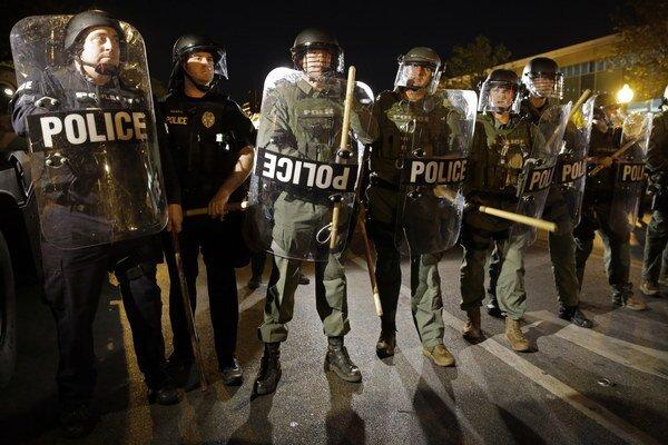 Baltimorská polícia.
