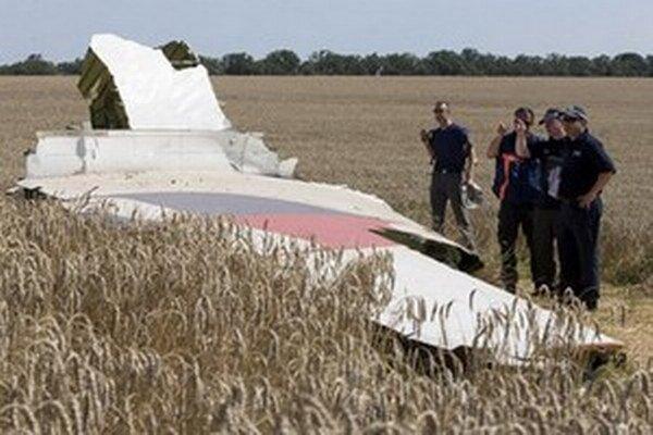 Lietadlo spoločnosti Malaysia Airlines sa zrútilo na východe Ukrajiny 17. júla 2014 počas letu z Amsterdamu do Kuala Lumpuru.