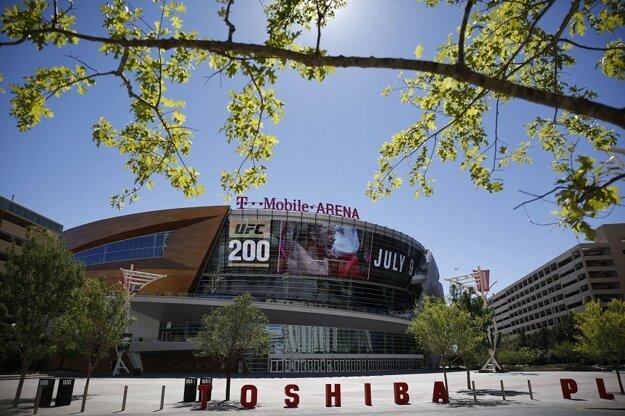 Aréna, v ktorej sa budú hrávať zápasy Las Vegas.
