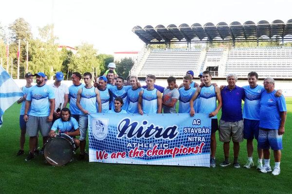 Muži AC Stavbár obhájili prvenstvo z minulého roka a celkovo získali tretí triumf v klubovej histórii.