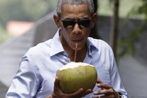 Na kokosovom mlieku si rád pochutnáva aj americký prezident Barack Obama.