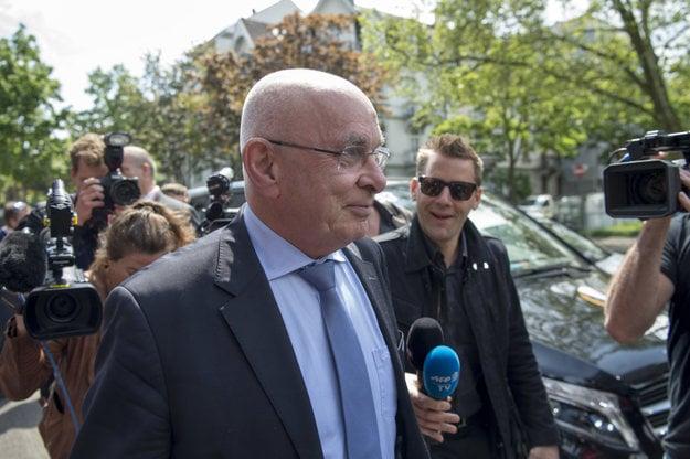 Viceprezident Európskej futbalovej únie (UEFA) Michael Van Praag.