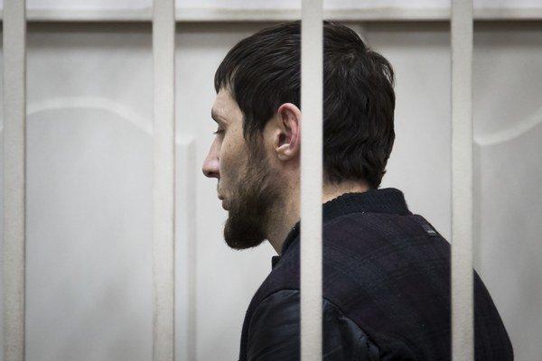 Zaur Dadajev, jeden z pätice podozrivých zo zabitia Borisa Nemcova.