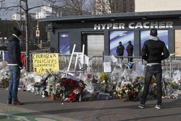 Košér supermarket, v ktorom útočník zadržiaval rukojemníkov.